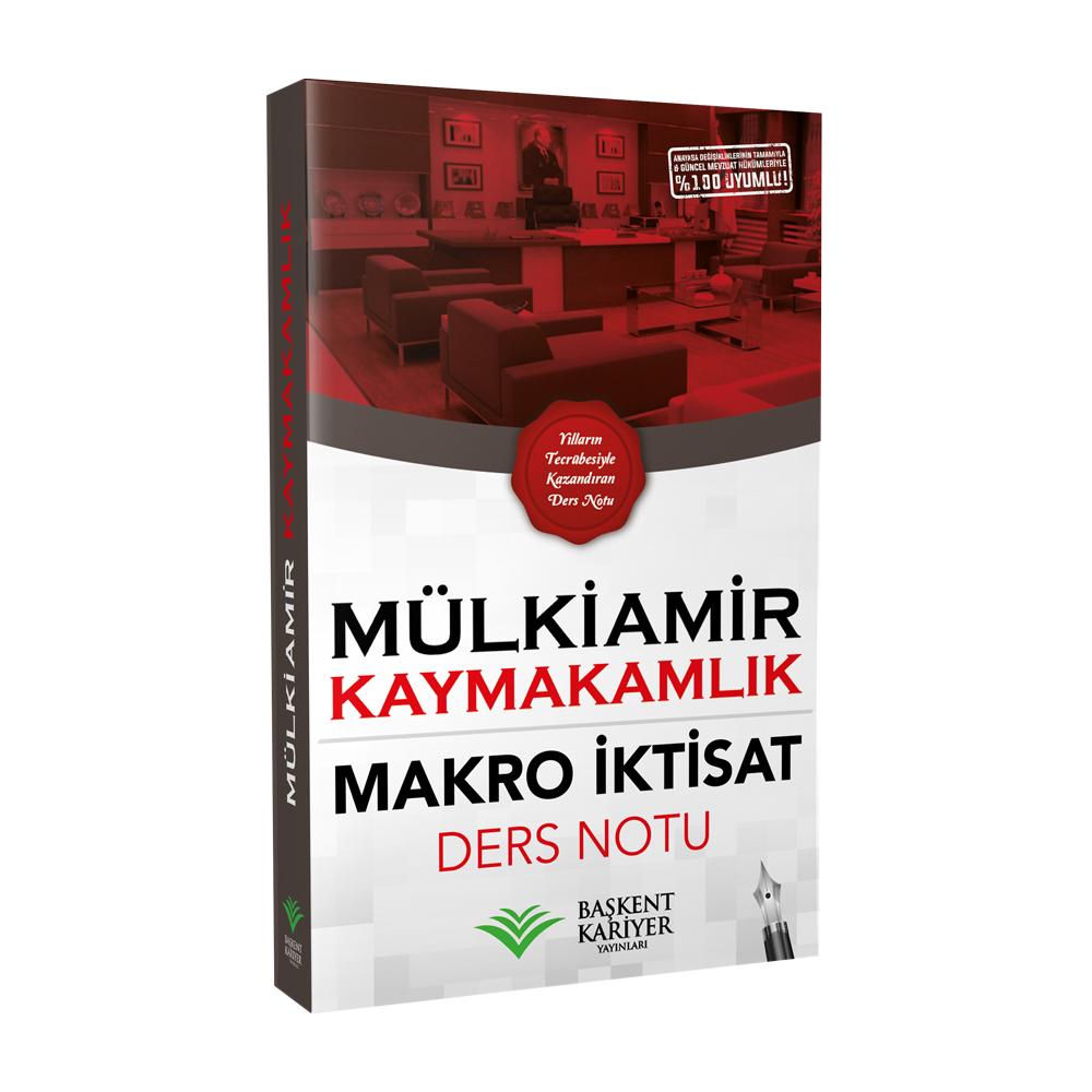 Makro Iktisat Ders Notu Mülkiamir Kaymakamlık Başkent Kariyer
