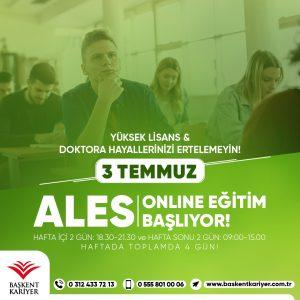 online ales kursu